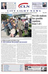 Pro-Life students face possible expulsion from U of C - City Light News