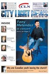 Tony Melendez - City Light News