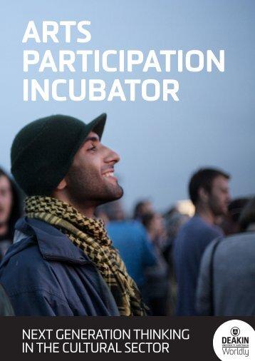 (9698 kb) Deakin University's Arts Participation Incubator - Theatre ...