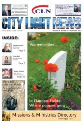 Missions & Ministries Directory - City Light News