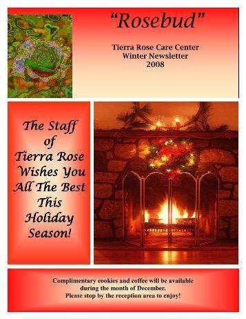 """Rosebud"" - Tierra Rose Senior Living Community"