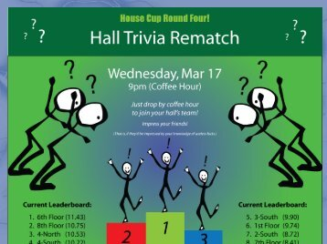 House Cup Trivia Rematch!