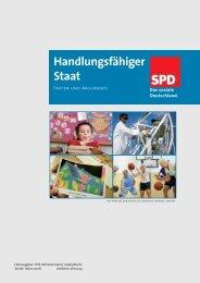 Handlungsfähiger Staat - SPD Langwedel/Etelsen