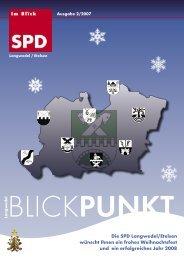 Blick Punkt 02/2007 Download Hier - SPD-Ortsverein Langwedel ...