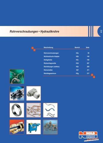 Rohrverschraubungen - Nold