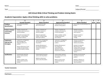 List Of Problem Solving Capabilities And Skills For Resume
