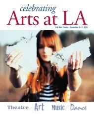 Fall Arts Booklet FINAL:Layout 1 - Lawrence Academy