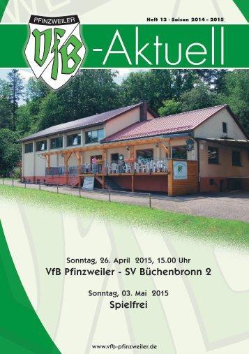 VfB-Aktuell Nr. 13