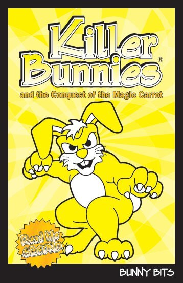 BUNNY BITS - Killer Bunnies