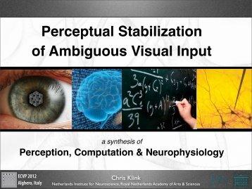 slides pdf - Chris Klink, PhD