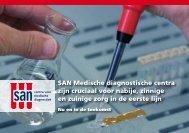 SAN Medische diagnostische centra zijn cruciaal voor nabije ... - LVG