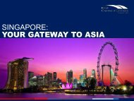 Your gateway to Asia - British Chamber of Commerce Singapore