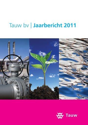 Jaarverslag Tauw 2011