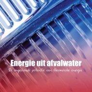 Energie uit afvalwater - Waternet Innovatie