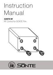 SONTE RemoteControll