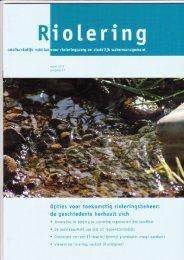 Nieuwe sanitatie: verbeterd gescheiden riool...fase 2? - Tauw