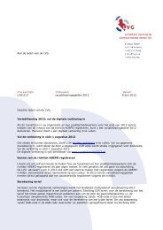 LVG informatiebrief