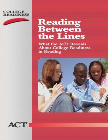ACT: Reading Between the Lines - Data Center