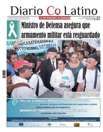 Edición 22 de Abril de 2015