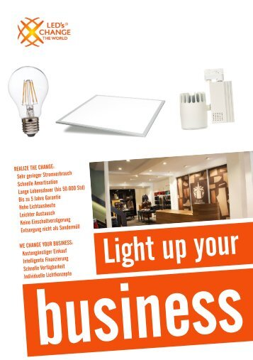 Light up your business