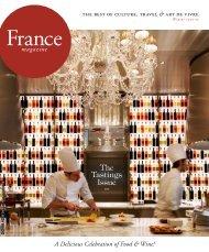 France Magazine – December 2012 - Le Royal Monceau