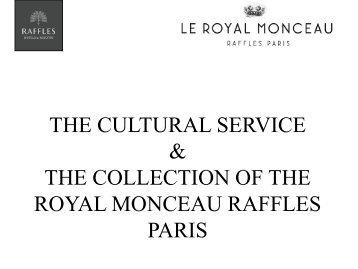 artists - Le Royal Monceau