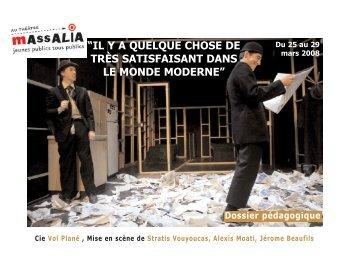Il y a quelque chose... Compagnie Vol Plané - Théâtre Massalia