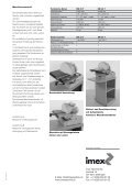 Scheibenschleifmaschinen - Imex Technik AG - Seite 2
