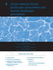 4 Scenic beauty: Visual landscape assessment and human ...