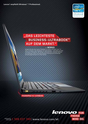 ThinkPad Edge Serie - Lenovo