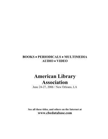 American Library Association - Combined Book Exhibit