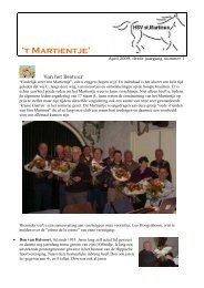 Nieuwsbrief 7 - Hippische Sportvereniging Sint Martinus