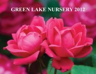 GREEN LAKE NURSERY 2012