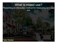 What is mixed use? - Transportation Research At McGill (TRAM ...