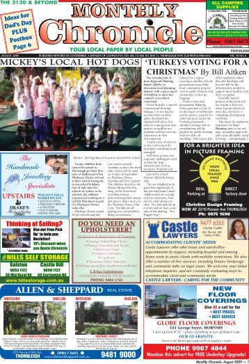 AUGUST 2009 EDITION.pdf(5.8mB) - The Monthly Chronicle