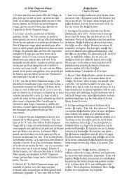 Le Petit Chaperon Rouge Charles Perrault ĝ Ru a Kufeto Charles ...