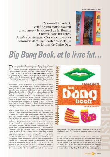 Big Bang Book, et le livre fut…