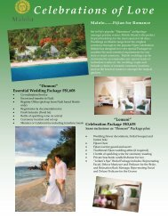 Celebrations of Love - Malolo Island Resort