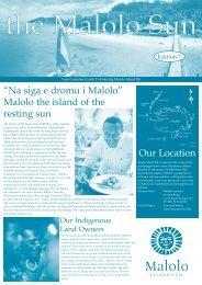 Na siga e dromu i Malolo - Malolo Island Resort