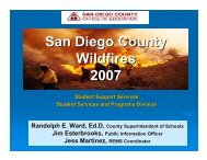 Response to Southern California Fires - Readiness and Emergency ...