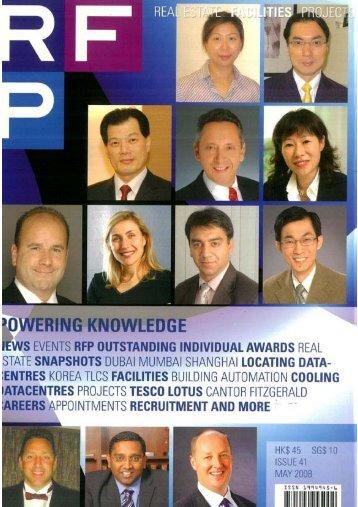 Kristina in RFP Magazine's Outstanding Individuals - dwp