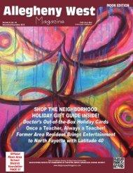 November 2012 - Allegheny West Magazine