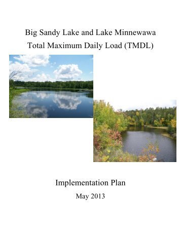 Big Sandy Minnewawa Implementation Plan - Aitkin County Soil ...