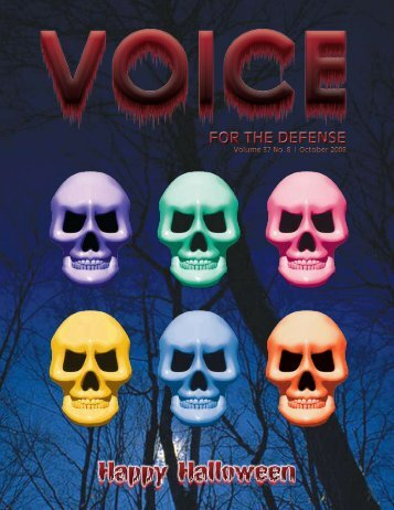 Happy Halloween - Voice For The Defense Online