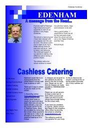 Christmas Newsletter 2010 - Edenham High School