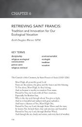 CHAPTER 6 RETRIEVING SAINT FRANCIS: - Webpages at SCU