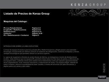 Listado de Precios de Kenza Group INDICE - Depilacion Laser ...