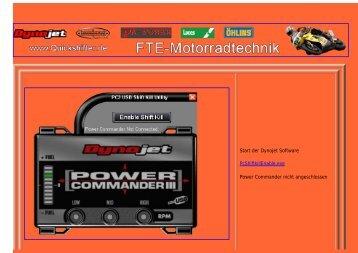 Quickshifter aktivieren.pdf - Motorradtechnik Engelmann