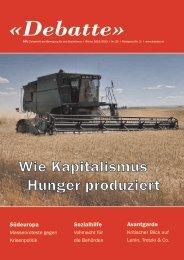 Debatte (Ausgabe 23) - Bewegung für den Sozialismus