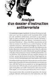 Analyse d'un dossier d'instruction antiterroriste - Non Fides